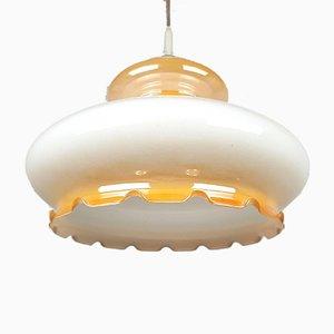 Vintage Glaslampe, 1970er
