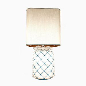 Vintage Ceramic Table Lamp, Italy, 1960s