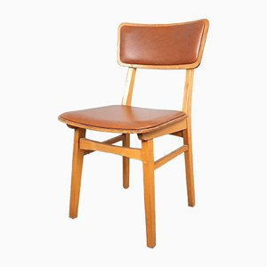 Vintage Wood Dining Chair, 1960s