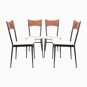 Mid-Century Italian Dining Chairs Set, 1960s