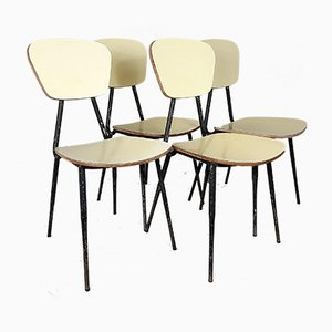 Mid-Century Italian Dining Chairs, 1960s, Set of 4