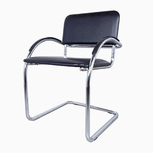 Bauhaus Style Office Chair, 1980s