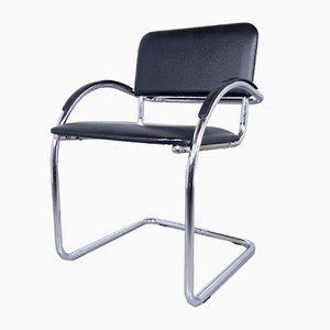 Sedia da ufficio in stile Bauhaus, anni '80