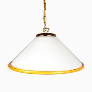 Vintage Italian Murano Glass Pendant Lamp, 1970s