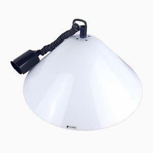 Mid-Century Italian White Pendant Lamp, 1970s
