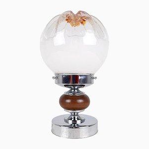 Lampada da tavolo vintage in vetro di Murano di Toni Zuccheri per Mazzega