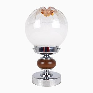 Vintage Murano Glass Table Lamp by Toni Zuccheri for Mazzega