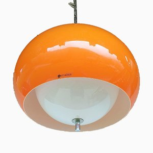 Mid-Century Pendant Lamp by Harvey Guzzini for Meblo