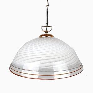 Large Mid-Century Italian Murano Glass Pendant Lamp, 1970s