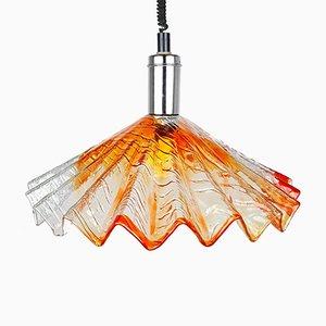 Mid-Century Italian Murano Glass Pendant Lamp, 1950s