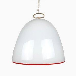 Grande Lampe à Suspension Vintage en Verre de Murano par Renato Toso pour Leucos