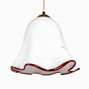 Vintage Murano Glass Fazzoletto Pendant Lamp, 1970s