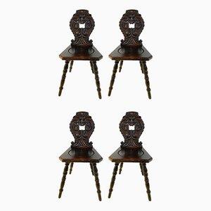Antike Sessel, 4er Set
