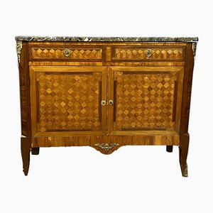 Louis XV Wooden Inlaid Buffet, 1850s