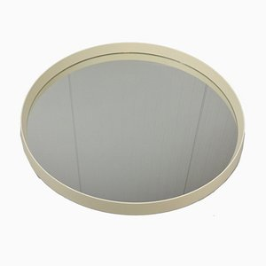 Large German Round Wall Mirror from Schneider, 1960s