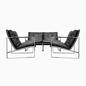 Living Room Set by Preben Fabricius for Walter Knoll, 2000s, Set of 3