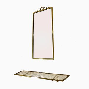 Wall Mirror & Console Table from Deutsche Werkstätten, 1950s, Set of 2