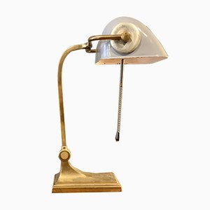 Art Deco Bauhaus Baker's Table Lamp, 1930s