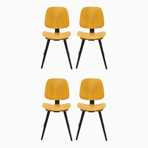 Dining Chairs from Thonet, 1956, Set of 4