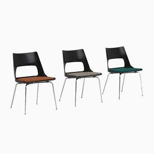 Mid-Century Danish Dining Chairs by Kay Korbing for Fibrex Danmark, Set of 3