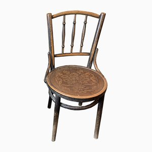 Antique Bentwood Dining Chair from Thonet, 1900s