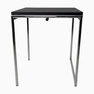 Modernist Chrome Framed Fold-Out Model Jean Table by Eileen Gray for Alivar