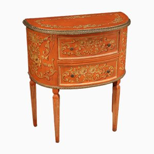 Italian Lacquered, Gilded and Painted Dresser in the style of Louis XVI