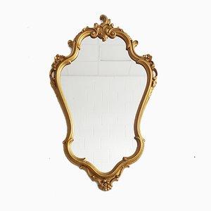 Baroque Style Golden Mirror, 1950s