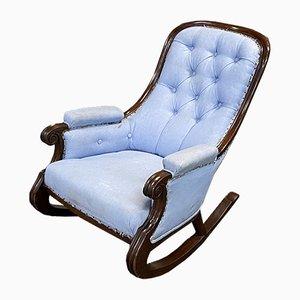 Antique English Mahogany Rocking Chair