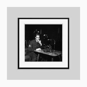 Elvis Presley, Archival Pigment Print Framed in Black