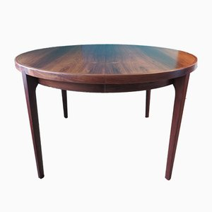 Danish Rosewood Dining Table from Rosengaarden, 1960s