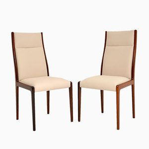 Danish Side Chairs, 1960s, Set of 2