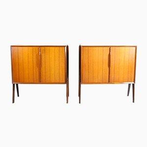 Schrank im Skandinavischen Stil, 1960er, 2er Set