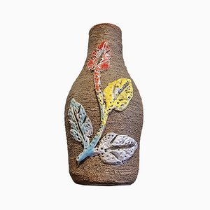 Carstens & Vine Leaf Relief Decorative Vase