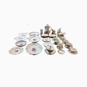 Set de Vaisselle en Porcelaine, Set de 40