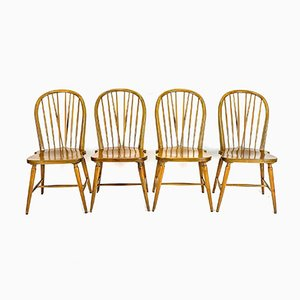Windsor Chairs, Set of 4