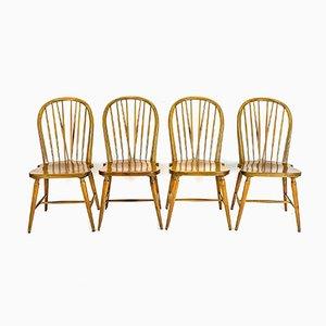 Windsor Stühle, 4er Set