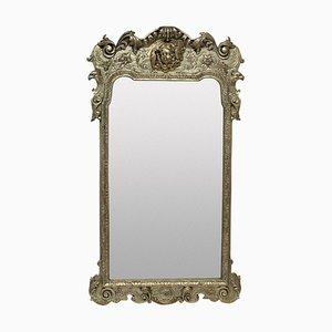 Queen Anne Style Silvered Mirror, 1930s
