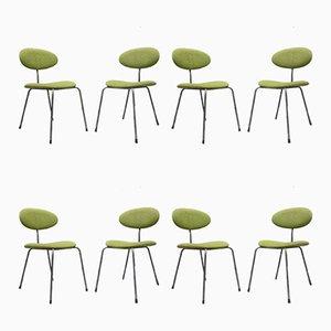 Esszimmerstühle von Hans Bellmann für Domus, 1950er, 8er Set