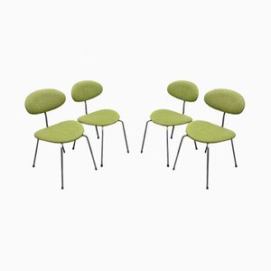Dining Chairs by Hans Bellmann for Domus, 1950s, Set of 4