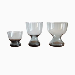 Spindle Vases by Wilhelm Wagenfeld for Wmf, 1960s, Set of 3