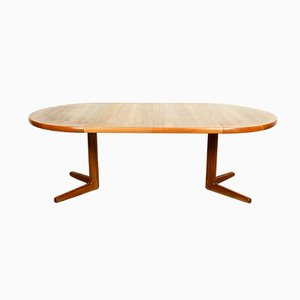 Danish Teak Expandable Dining Table from Korup Stolefabrik, 1960s