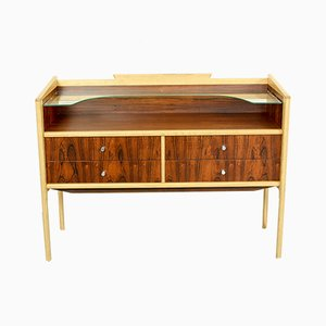 Oak and Rosewood Vanity / Sideboard, 1960s