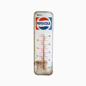 Pepsi Thermometer Sign, 1950s