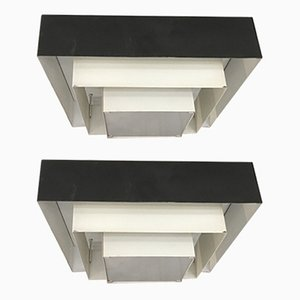 Mid-Century Ceiling Lamps from Raak, Set of 2