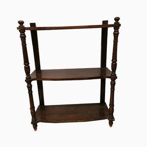 Antique Walnut Shelf, 18th Century