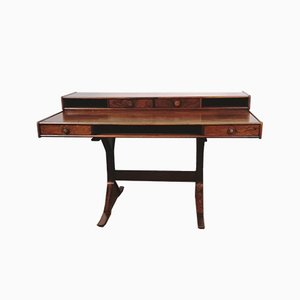 Rosewood nr 530 Desk by Gianfranco Frattini for Bernini, 1963
