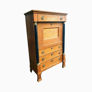 19th Century French Oak Secretaire