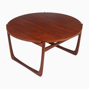 Teak Coffee Table by Peter Hvidt & Orla Mølgaard-Nielsen, 1960s