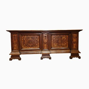 Walnut Chest of Drawers with Inlaid Front